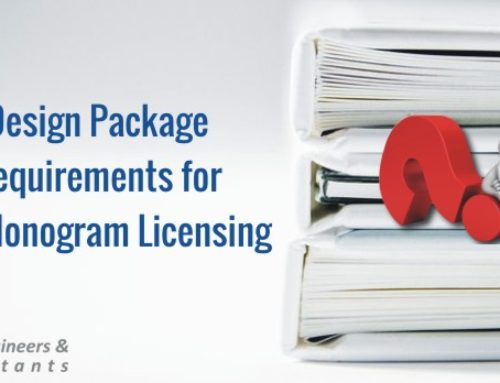 Design Package requirements for API Monogram Licensing